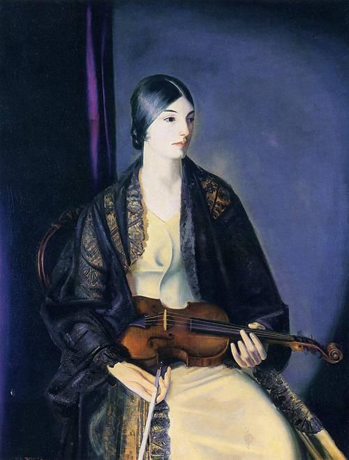 George Wesley Bellows, The Violinist Leila Kalman