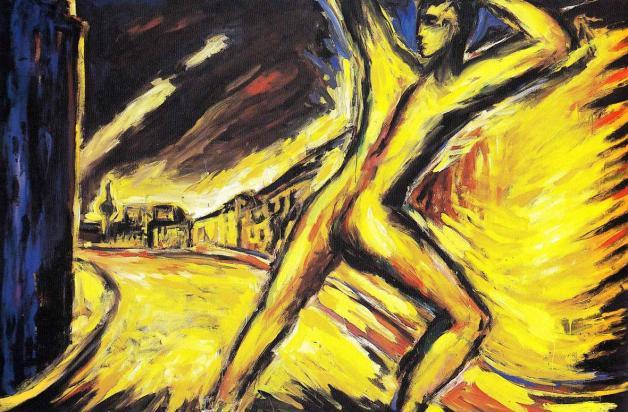 Helmut-Middendorf-bie-strasse-1984-olio-su-tela
