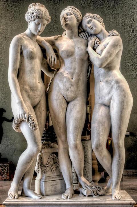 Jean Jacques Pradier (1790–1852) - Las tres Gracias