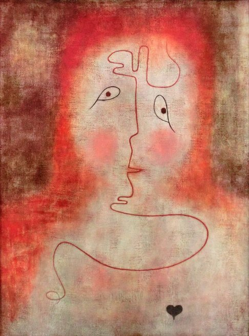 Paul KLee, In the Magic Mirror,