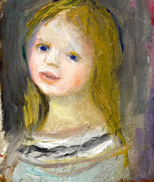 Pierre-Auguste Renoir (1841-1919) Portrait de jeune fille