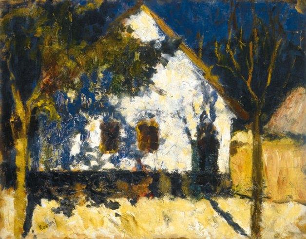 Sunny house, Koszta József. Hungarian (1861 - 1949)