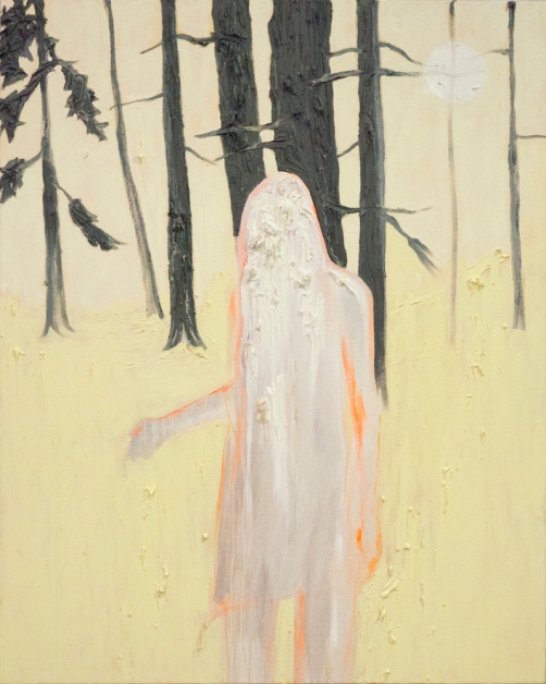 untitled - girl in forest