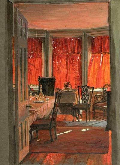 William Holman Hunt  Edith Holman Hunt's Drawing Room