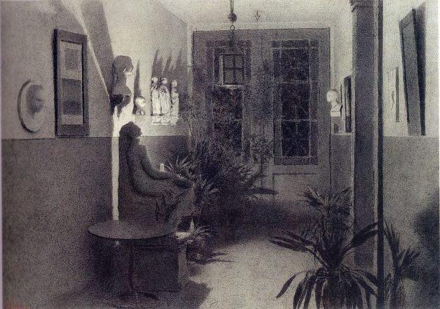 Xavier Mellery, peintre